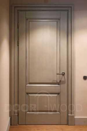 Деревянные двери из ясеня